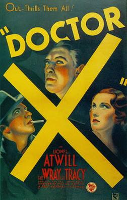 Doctor X (1932) movie poster