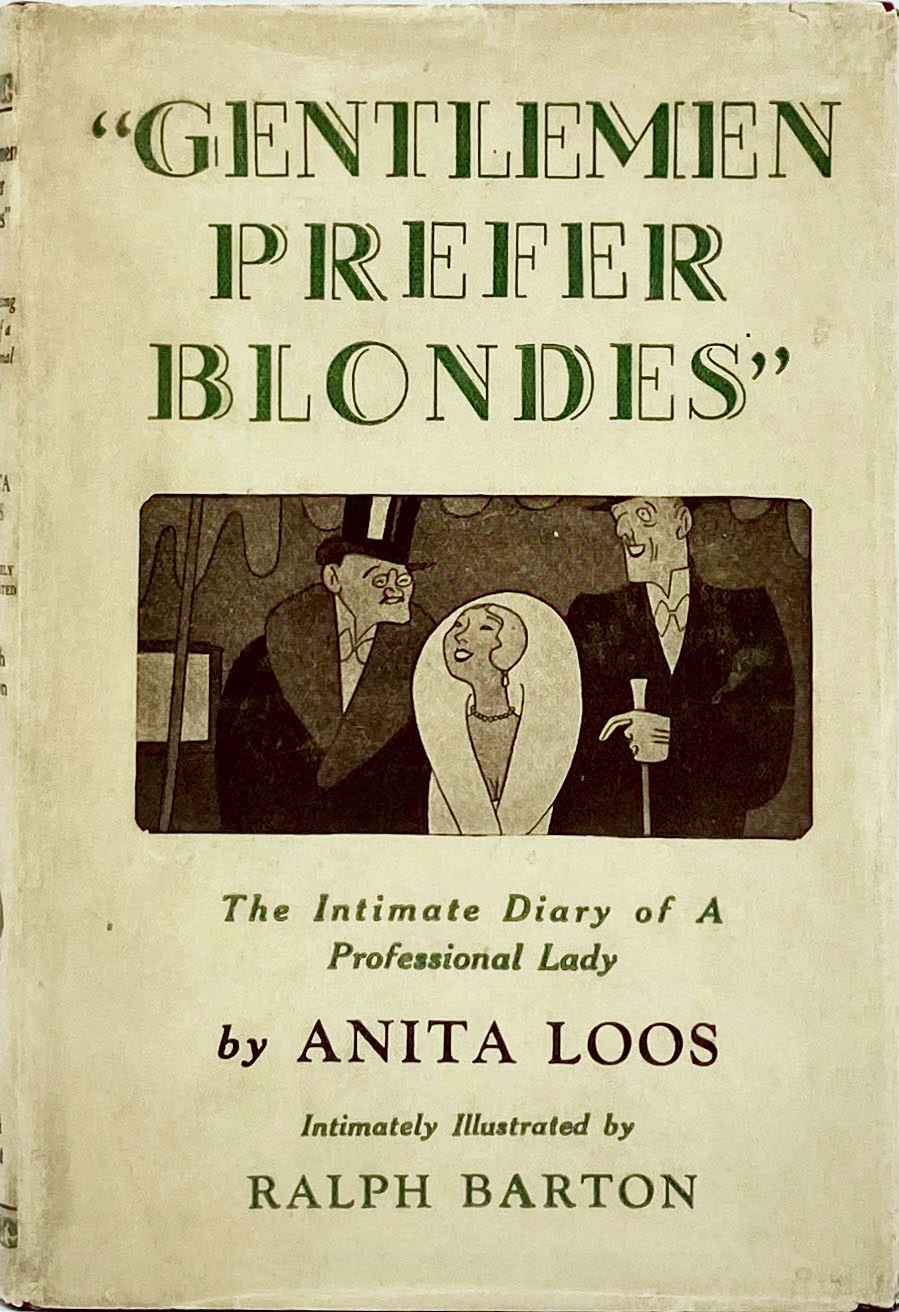 Gentlemen Prefer Blondes Novel Wikipedia