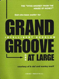 Grand Groove 1993 single by Tragedy Khadafi