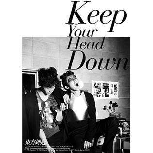 <i>Keep Your Head Down</i> 2011 studio album by TVXQ