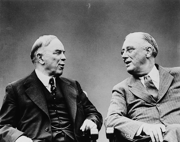 mackenzie king and roosevelt relationship