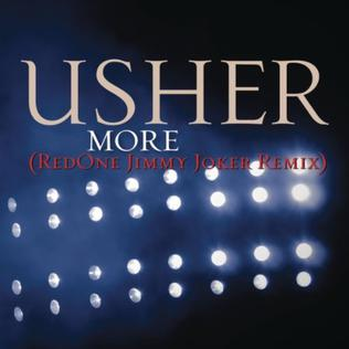 More (Usher song) 2010 single by Usher
