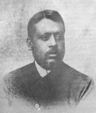 A rare photograph of R. B. Sanyal, the first superintendent of the zoo