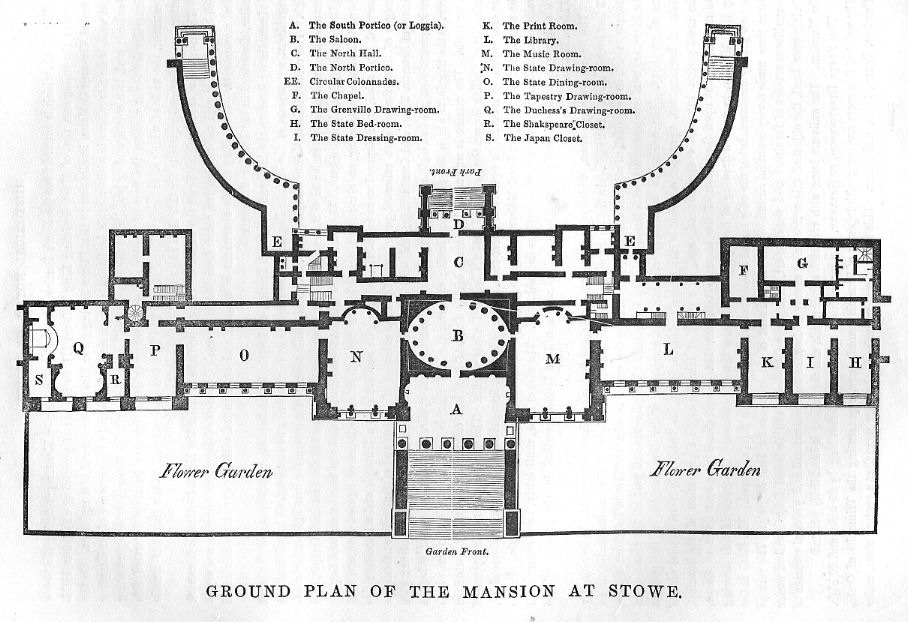 File stowe house ground plan wikipedia Program for floor plans