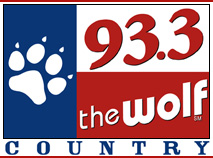 93.3 The Wolf logo, 2008-2011