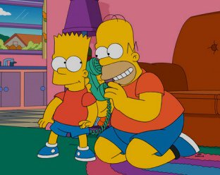 Barts New Friend 563rd episode of the twenty-sixth season of The Simpsons