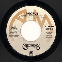 Titelbild des Gesangs Goofus von The Carpenters