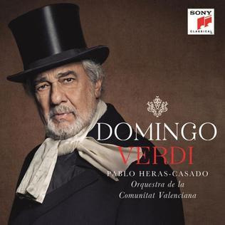 <i>Verdi baritone arias</i> (Plácido Domingo album) 2013 studio album by Plácido Domingo