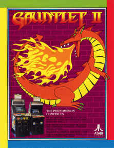 Gauntlet II game flyer.png