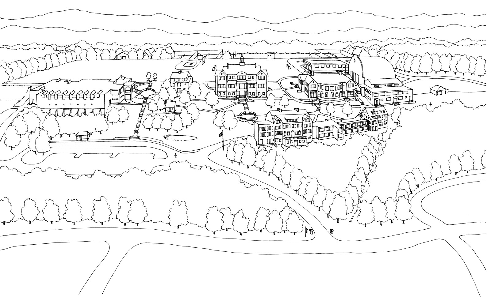 The New School Campus Map.File Hopkins Campus Map 01 Jpg Wikipedia