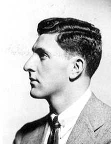 Irwin Shaw in his CUNY years.