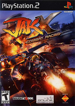 Picture of a game: Jak X: Combat Racing