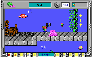 <i>Math Rescue</i> 1992 video game