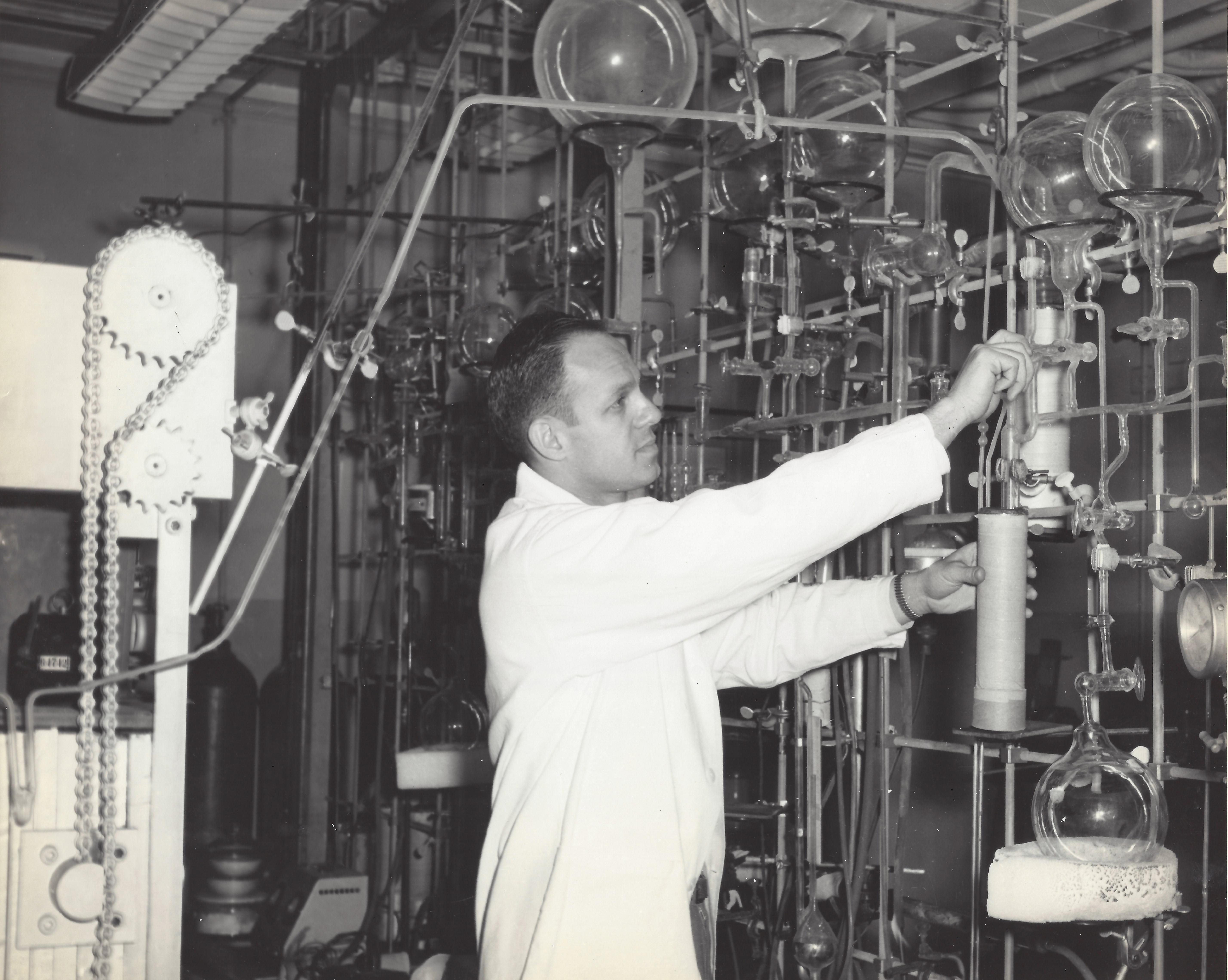 Willard Frank Libby radiocarbon dating