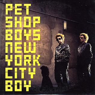 New York City Boy 1999 single by Pet Shop Boys