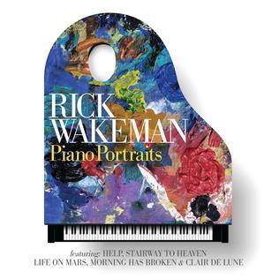 <i>Piano Portraits</i> 2017 studio album by Rick Wakeman