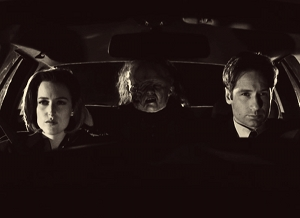 Image result for x-files black and white episode