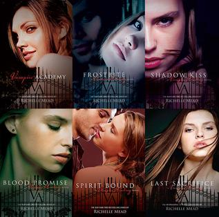 Image result for vampire academy series