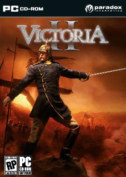Victoria II's box art.