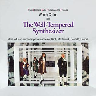 <i>The Well-Tempered Synthesizer</i> 1969 studio album by Wendy Carlos