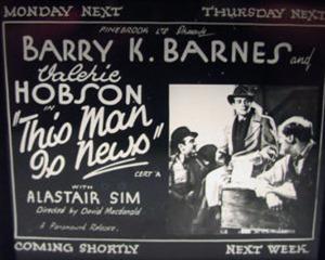 <i>This Man Is News</i> 1938 film by David MacDonald