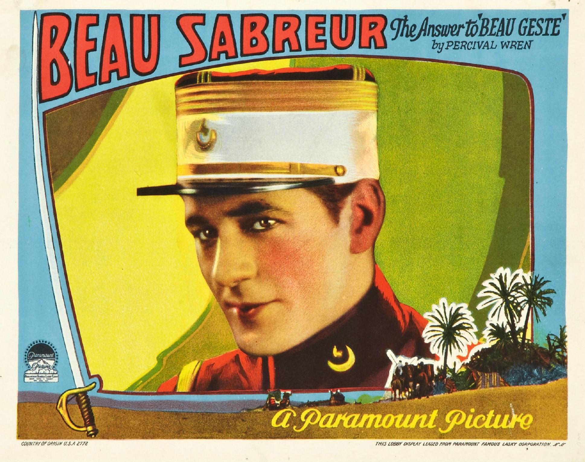 Beau Sabreur - Wikipedia Film Reels