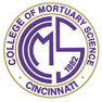 Cincinnati College of Mortuary Science logo.png