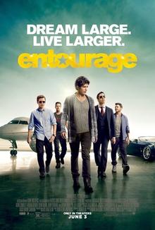 Poster for 2015 dramedy Entourage