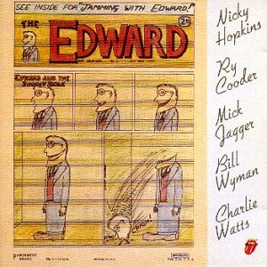 <i>Jamming with Edward!</i> 1972 studio album by Ry Cooder, Nicky Hopkins, Mick Jagger, Bill Wyman, Charlie Watts