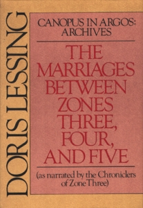 <i>The Marriages Between Zones Three, Four and Five</i> Novel by Doris Lessing