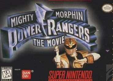 Mighty Morphin Power Rangers: The Movie   (Power Rangers o filme) (game)