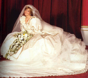 princess diana wedding gown photos. File:Princess Diana wedding