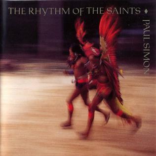 <i>The Rhythm of the Saints</i> 1990 studio album by Paul Simon