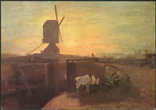 Windmill and Lock
