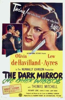 Αποτέλεσμα εικόνας για Τhe dark mirror (1946).