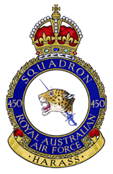 No. 450 Squadron RAAF Royal Australian Air Force fighter squadron