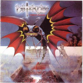 <i>A Time of Changes</i> (album) 1985 studio album by Blitzkrieg