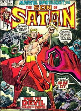 Image result for son of satan marvel