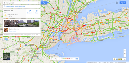 google traffic wikipedia