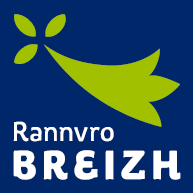Logo in breton language used by Regional Council of Brittany and its administrative territory