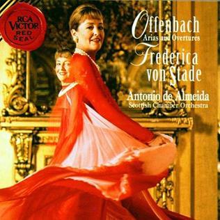 <i>Offenbach Arias and Overtures</i> 1995 studio album by Frederica von Stade