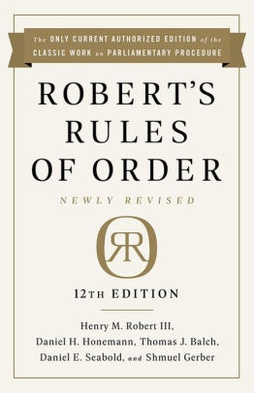 Robert S Rules Of Order Wikipedia