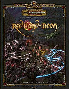 Cover of Red Hand of Doom