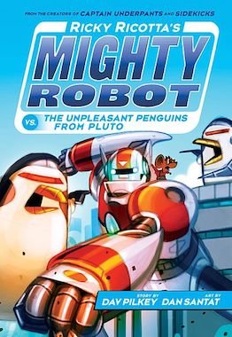 Book 8 the Naughty Night Crawlers from Neptune Ricky Ricottas Mighty Robot vs