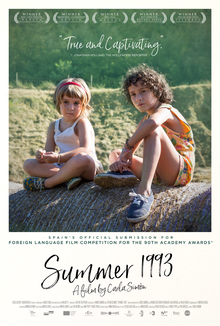 Summer 1993 (2017) Spanish Movie 720p || 480p BluRay 900MB || 500MB With Esub