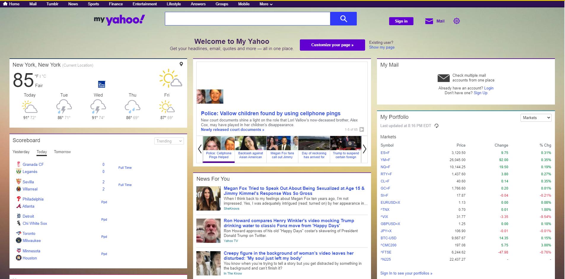 My Yahoo Wikipedia