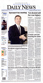 Alamogordo Daily News front page 2008-05-16.jpg