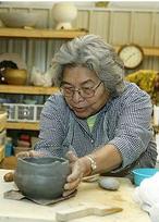 Anna Mitchell Cherokee potter