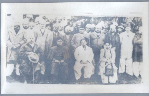 Darband 1948, Governer frontier and PM.jpg
