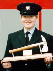 Fleur Lombard British firefighter